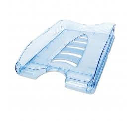 Bac à courrier superposable Sunrise Bleu transparent