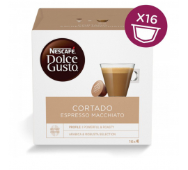 Capsule NESCAFÉ DOLCE GUSTO CORTADO Paquet 16