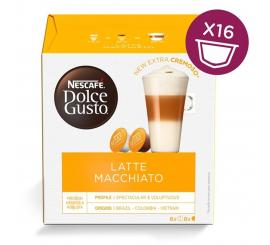 Capsule NESCAFÉ DOLCE GUSTO LATTE MACCHIATO Paquet 16