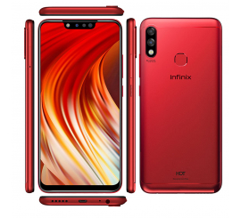 Téléphone Portable INFINIX HOT7 PRO Rouge