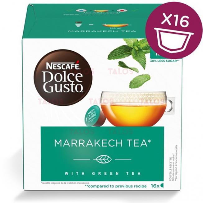 Capsules NESCAFÉ DOLCE GUSTO TEA MARRAKESH paquet de 16