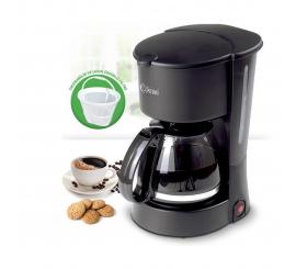 Cafetière KIWI 750W 4-6 Tasses Noir