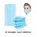 Masque respiratoire médical jetable boite de 50