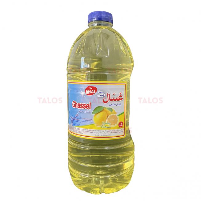 Liquide vaisselle jmal Ghassel 2 L Citron