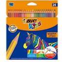 Boite de 24 BIC Kids Crayons de Couleur