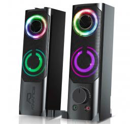 ENCEINTE 2 EN 1 SoundPhonic 2.0 RGB - 6W RMS