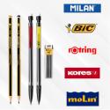 Crayons et portes mines